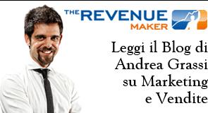 Leggi il blog di Andrea Grassi su Marketing e Vendite