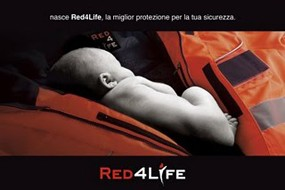 Siggi Red4life Alta Visibilità Campagna Stampa