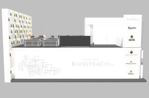 Stand Riunite e Maschio - Vinitaly 2011